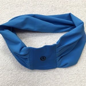"Lululemon Blue 2.5""-3"" Headband OS"